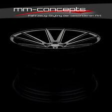 22 Zoll Concave 9 & 11 x22 5x130 Felgen Black für Porsche Panamera Cayenne Turbo
