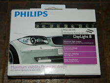 NEW PHILIPS DRL LUXEON LED DAYLIGHT8 DAYTIME RUNNING LIGHTS DAYLIGHT 8 8x2 PAIR