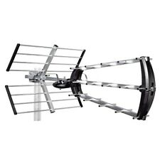 TRIPLE BOOM PROFESSIONAL HIGH GAIN DIGITAL TV AERIAL FREEVIEW HD LOFT OR OUTDOOR