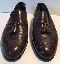 Vintage Gucci Men's Loafer Tassel Shoes Size US 7.5 M EURO 40.5 D
