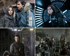 SET OF FOUR STAR WARS ROGUE ONE 10 x 8 PHOTO'S,LOT,SET.FREE POSTAGE! 68