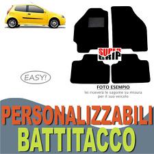 PER FIAT PUNTO (99-10) TAPPETINI AUTO SU MISURA IN MOQUETTE CON BATTITACCO EASY
