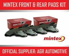 MINTEX FRONT AND REAR BRAKE PADS FOR PEUGEOT 207CC 1.6 TD 110 BHP 2007-12 OPT2