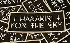 Harakiri For The Sky - Logo Patch (Anomalie, Karg, Selbstentleibung)