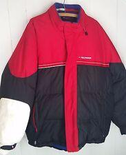 vtg Tommy Hilfiger puffer Jacket blue red white mens size XL