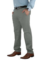 Casual Mens Chino Jeans Cotton Pants Slim Fit Straight Leg Trousers