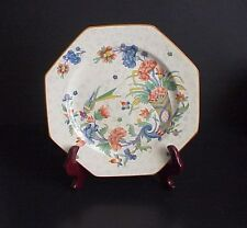 Crown Ducal Ware Dinner Plate England #1424 Bird Orange Blue