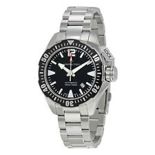 New Hamilton Khaki Navy Frogman Automatic Black Dial Men's Watch H77605135