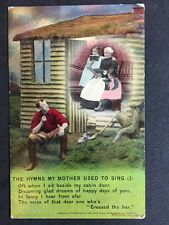 Vintage Postcard - Bamforth Song Card #28 - Hymns My Mother Used To Sing (3)