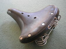 Cycling: Brooks B66 Leather Bicycle Saddle.