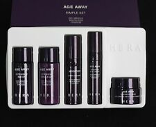 Amore Pacific HERA  Age Away Simple Set  Kit 5Items Anti Wrinkle Revitalizing