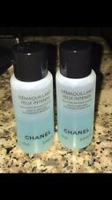 Chanel  Gentle Biphase Eye makeup Remover  2 Travel Size 0.34 Oz Each