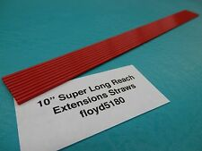 "10 LPS WD40 Red Straw Tube 10"" Spray Can Nozzel tip Rust Oil Cleaner Aerosol"