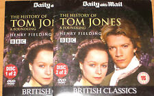 A History Of Tom Jones (2 x DVDs), James D'Arcy, Kathy Burke, Samantha Morton
