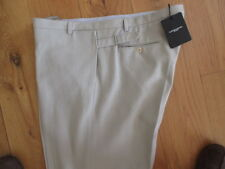 "BNWT Beige Designer Trousers CoSTUME NATIONAL HOMME  W48"" x  L36. RRP £337"