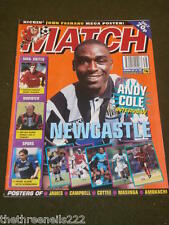 MATCH - ANDY COLE INTERVIEW - SEPT 24 1994