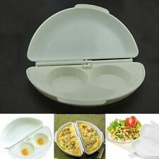 Microwave Omelet Mold Poach Cooking Cooker Pan Maker Egg Poacher Kitchen Gadget