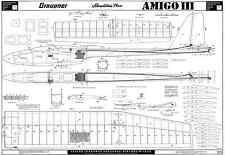 Graupner amigo MK3 planeur plans