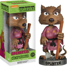 FUNKO TEENAGE MUTANT NINJA TURTLES SPLINTER WACKY WOBBLER BOBBLE HEAD BRAND NEW
