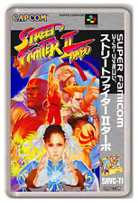 STREET FIGHTER 2 TURBO SUPER FAMICOM SNES FRIDGE MAGNET IMAN NEVERA