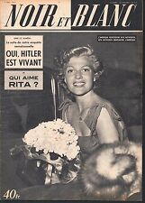 French Mag 1951 NOIR ET BLANC RITA HAYWORTH_BETTE DAVIS