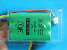 Accumulatore NIMH 3.6V 600mAH TO424 T0424 Cordless Telefono Batteria