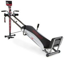 Home Fitness Machine Total Gym 1400 Deluxe With Workout DVD Muscle Exercise NEW