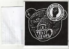 (GS461) Teddy Bears, What's Your Problem? - 2015 unopened DJ CD