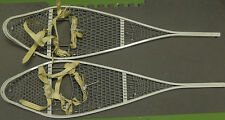 ONE PAIR Snowshoes, Aluminum, Gov issue, USA MADE    M008