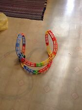 Little Tikes Tumble Train With 18 Pieces Of Track VGC