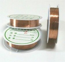Wholesale Lot Soft Copper Wire/Wire line for DIY Jewelry Making 0.2-0.8mm D4B