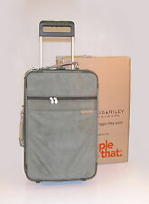 "Briggs & Riley 21"" Upright Carry-On with Garment Center ~ U21G * Olive"