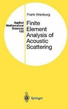 Finite Element Analysis of Acoustic Scattering (Applied Mathematical S-ExLibrary