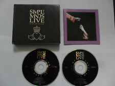 SIMPLE MINDS - Live / In The City Of Light (2CD FAT BOX 1987)