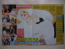 Madonna Mandy Smith pages cuttings clippings Sweden 1980s