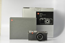 Leica X X1 12.2MP Digital Camera Steel Grey