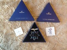 New SWAROVSKI 2013 Large Annual Christmas Ornament