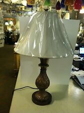 "30.5""Antique Color Pineapple Table Lamp   Bed Side Light Includes Shade ."
