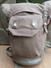Swedish Army Gas Mask Bag - 1940s Dated
