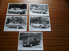 "GROUP OF 5 CHRYSLER SIMCA PRESS PHOTO  ""brochure related"""