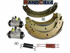 6042 Land Rover Series 2 2a 3 SWB 88 Front Brake Shoe & Wheel Cylinders Kit to80