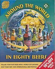 Around the World in Eighty Beers game by de lux