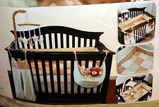 Neat Baby - 4 Piece Crib Set: Quilted Comforter, Bumper, Dust Ruffle & Sheet NIB