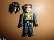 X-MEN First Class MAGNETO minimates FIGURE + HELMET Michael FASSBENDER marvel