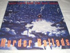 NICK CAVE & THE BAD SEEDS MURDER BALLADS LP VINYL