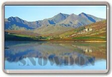 FRIDGE MAGNET - SNOWDON - Large Jumbo - UK Mountain Wales
