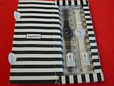 SWATCH SPECIAL WHITE HOURS & BLACK MINUTES -  GZS10PACK - 1995