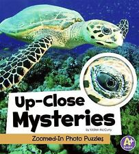 Up-Close Mysteries: Zoomed-In Photo Puzzles (A+ Books: Eye-Look Picture Games)