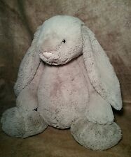 Big soft cute Jellycat London plush stuffed Easter bunny rabbit doll floppy ears