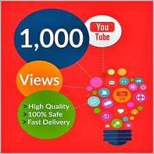 +1000-Youtube-video-views-fast-delivery-HQ-cheapest-on-ebay